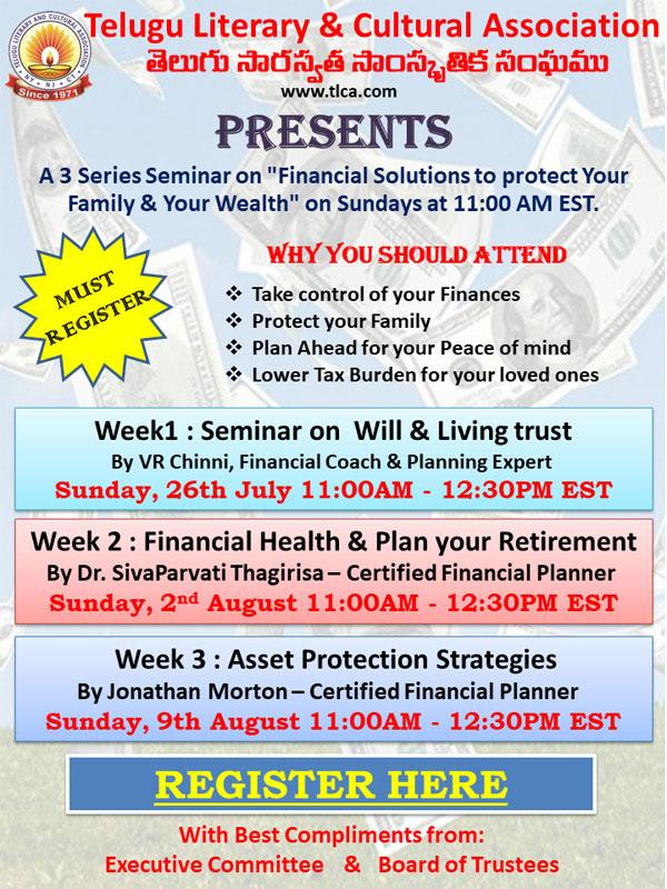 Seminar on Financial Health & Plan your Retirement