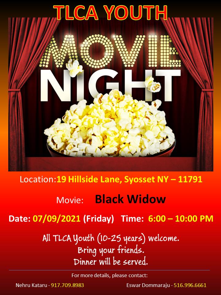 TLCA - Youth Movie Night