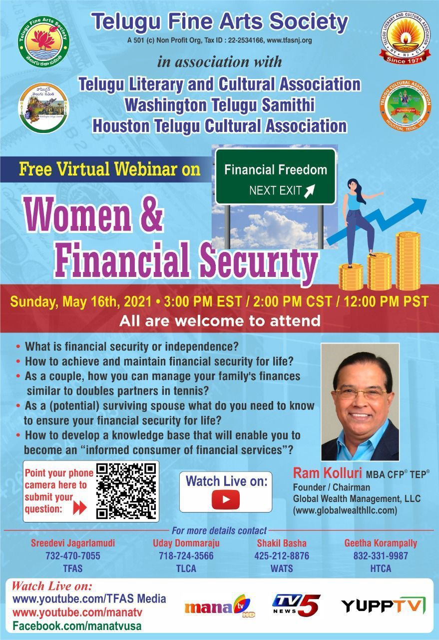 TLCa-TFAS Women and Financial security